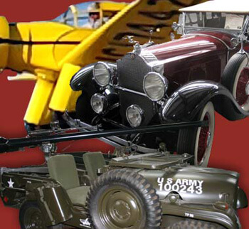 The Western Antique Aeroplane and Automobile Museum has a great collection that showcases popular american transportation.