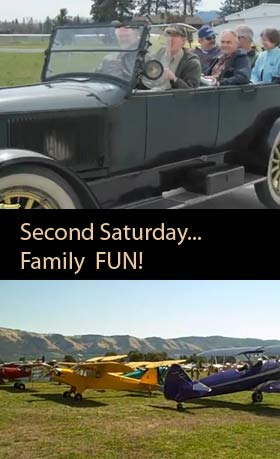 Visit us on any Second Saturday at the Western Antique Aeroplane and Automobile Muesum and have lots of fun.