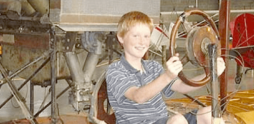 Kids love the Western Antique Aeroplane & Automobile Museum.