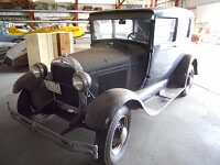 Come see WAAAM's newest Model A Ford.